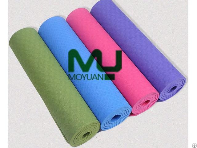 Eco Friendly Anti Slip Buffering Water Proof Yoga Mat