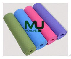 Eco Friendly Anti Slip Buffering Water Proof Yoga Mat