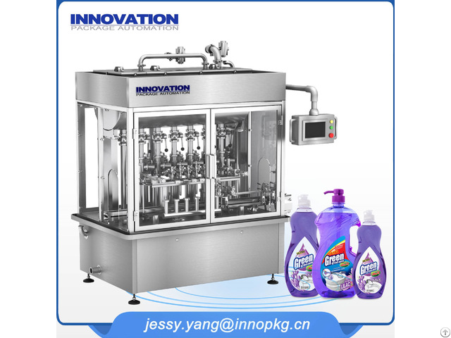 Liquid Detergent Fiiling Machine