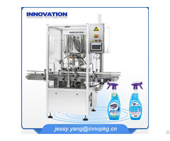 Full Automatic Household Care Daily Chemical Fiiling Line