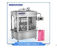 Full Automatic Liquid Detergent Fiiling Capping Machine