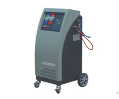 Acm8800 Special For R1234fy Refrigerant Recovery Ac Service Station With High Quanity