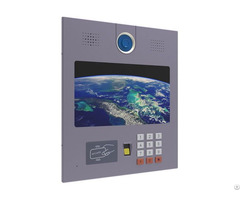 Research And Development Service Of Visible Access Control With 13 Inch Screen