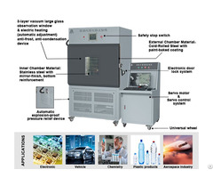 Programmable Battery Internal Short Circuit Testing Machine Equipment Chamber Device
