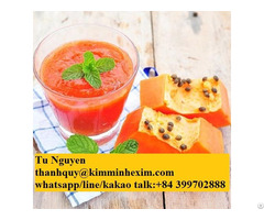 Raw Papaya Puree For Sale