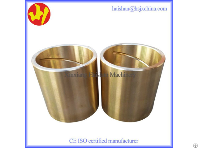 Sand Casting Lead Bronze Socket Liner High Load Capacity And Durable