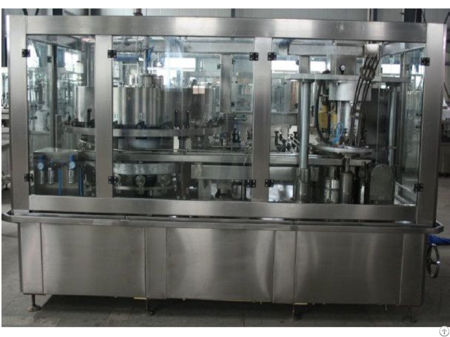 Fully Automatic Beer Can Filling Line