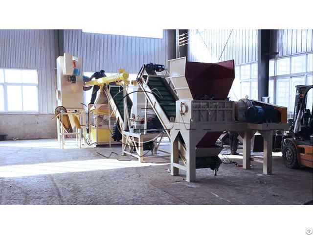 Waste Radiator Recycling Machine