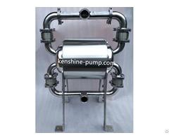 Qbw Hygienic Pneumatic Diaphragm Pump