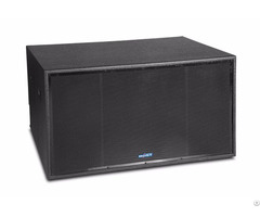 High Quality Professional Double 18 Inch Subwoofer Sk218a