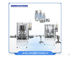 Filling And Capping Machine For Cosmetic Jar