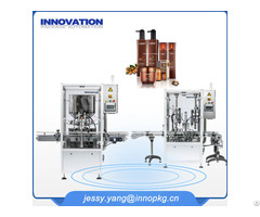 Automatic Liquid Filling Capping Machine