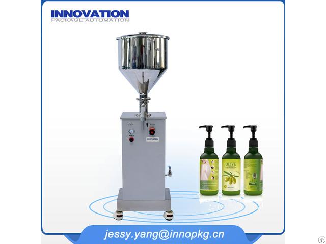 Manual Machine Filling Cosmetics
