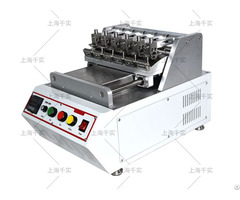 Bench Top Colorfastness Rubbing Tester With 6 Station