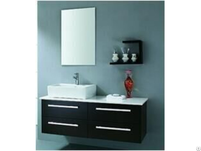 European Modern Wall Mounted Bathroom Vanity
