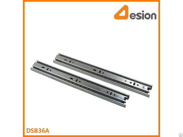 35mm Full Extension Ball Bearing Slides For Cabinet