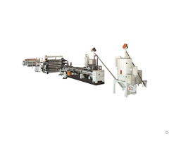 Abs Pmma Hips Gpps Refrigerator Board Extrusion Machinery