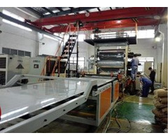 Pp Pvc Ps Pe Abs Thick Plate Product Line