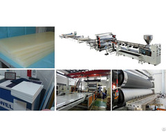 Pp Pvc Pe Abs Thick Plate Product Machinery