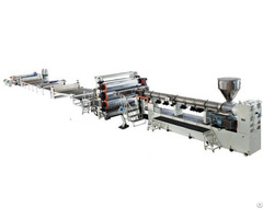Pp Pvc Pe Abs Thick Plate Extrusion Equipment