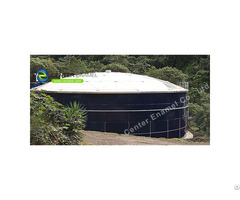 Stainless Steel Bolted Municipal Sewage Storage Tanks