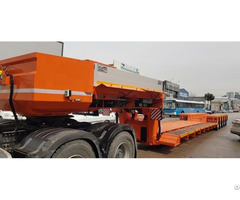 Manufacturing Lowbed Semi Trailers And Different Types Of Vehicles