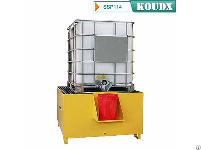 Koudx Steel Ibc Spill Pallet