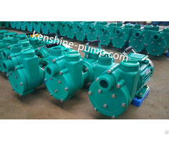 Fpz Corrosion Resistant Self Priming Plastic Pump