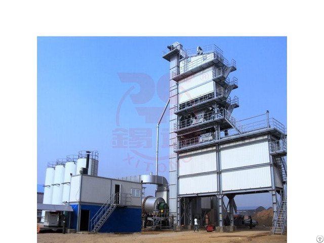 Qlb X Series Tower Type Asphalt Plant