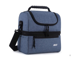 Mier Adult Insulated Lunch Bag Large Cooler Tote