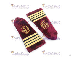 Military Shoulder Epaulettes Embroidered