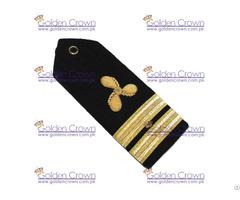 Merchant Marine Shoulder Board Propeller Senior Lieutenant