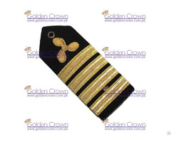 Merchant Marine Shoulder Board Propeller Captain