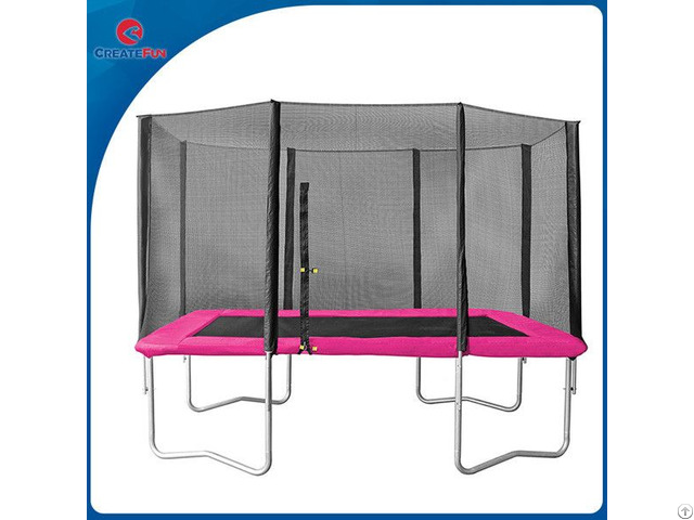 Createfun Big Rectangular Trampolines With Nets