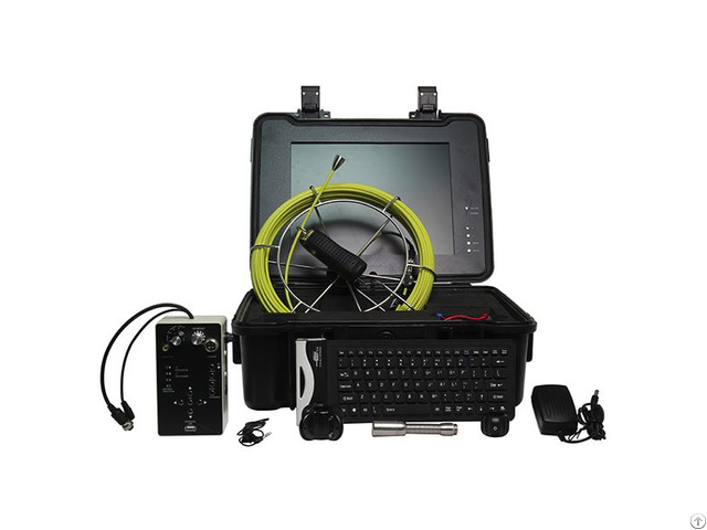 50m Cable Length Digital Inspection Camera With Dvr