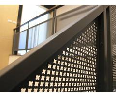 Perforated Panel Railings