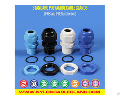 Ip68 Ip69k Waterproof Polyamide Nylon Plastic Cabel Glands