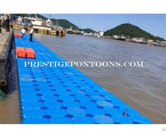 Plastic Floating Jetty Pier Solar Raft Pontoon Platform