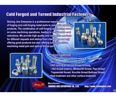 Cold Forged Precision Metal Parts Made In Taiwan