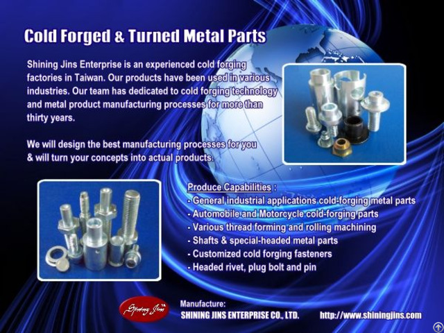 Cold Extrusion Forging Parts