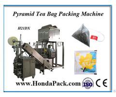 Pyramid Herbal Tea Bag Packing Machine