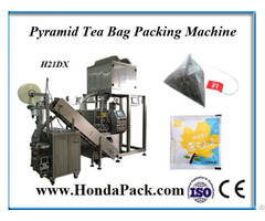 Ultrasonic Sealing Nylon Tea Bag Packing Machine