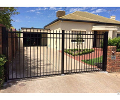 Double Swing Gate Low Carbon Steel