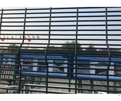 Horizontal Wire With V Fold 358 Security Fence