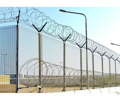 High Security With Razor Wire 358 Fence