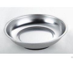 Stainless Steel Round Magnetic Tray 150 Mm