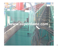 Road Fence W Beam Profiles Forming Machine