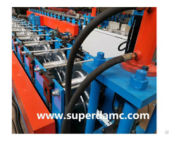Steel Edge Metal Frame Roll Forming Machine
