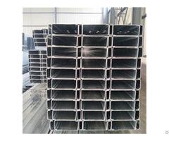 Hot Selling 80x40x20x2 5mm Galvanized C Beam Strut Steel