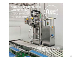 Sauce Puree 200 220 Litre Bid Filling Machine Bag In Drum Aseptic Filler